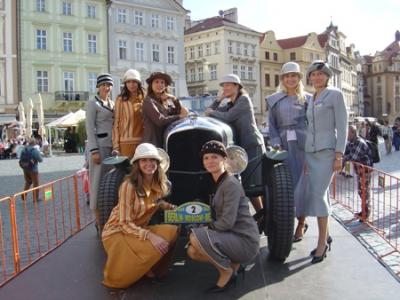 Veterán show - Staroměstské náměstí